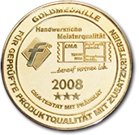 Goldmedaille 2008